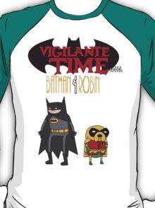 Vigilante Time with Batman & Robin T-Shirt