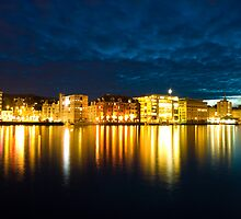 Bergen City Lights by dingobear