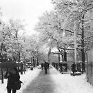30th Avenue in the Snow by Bernadette Claffey