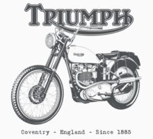 Triumph Classic by Tony  Newland