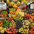 Fresh fruit - Ramblas - Barcelona - Spain by Arie Koene