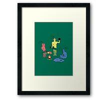PikMEN Framed Print