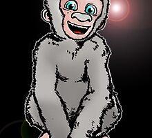 monkey blue eyes  by RamsesXll