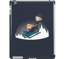 A Snowy Ride iPad Case/Skin