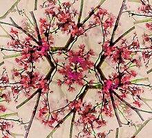 Geometric Nature Pattern by DFLC Prints