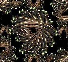 Ornamental Fancy Pattern  by DFLC Prints