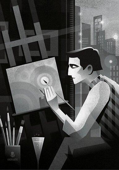 The artist by kiko