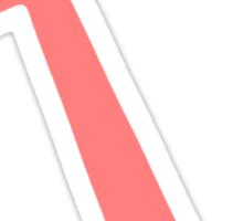 Coral Anchor Sticker