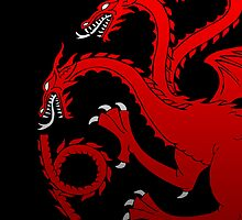 House Targaryen Sigil by dellycartwright