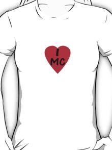 I Love Monaco - Country Code MC T-Shirt & Sticker T-Shirt