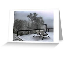 Snow on The Kings  ( 3 ) Greeting Card