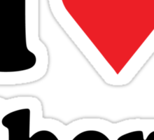 I Heart Alberta Sticker