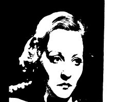 Tallulah Bankhead Is Thinkin' by Museenglish