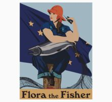 Flora the Fisher by rebecque