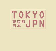 Tokyo, Japan iPad case by MonsterCrossing