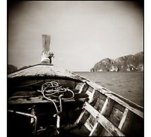 { drift boat } Photographic Print