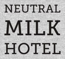 Neutral Milk Hotel - Black by Jake Lee