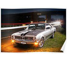 Kurt Davis' Holden Monaro GTS Poster