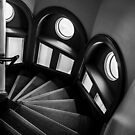 Mortlock Library Stairs by sedge808