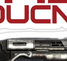 Gears of War - WALL BOUNCED Gnasher Sticker