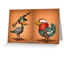 Duck Hunters Greeting Card