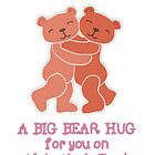 A Valentine's Day Teddy Bear Hug by Micklyn2
