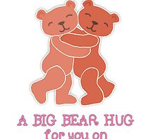 A Valentine's Day Teddy Bear Hug by Micklyn2