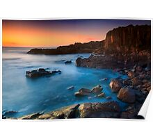 Boat Harbour Sunrise - Highside Poster