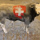 Swiss Bull by itchingink