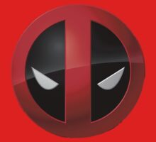 Deadpool Logo T-Shrit by ItsMyVizion