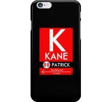 Kane Phone Case (Black) iPhone Case/Skin