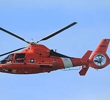 Hawaii Coast Guard Helicopter by Ernie Lopez