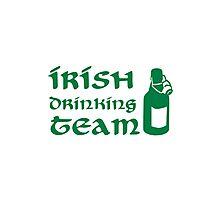 Irish drinking team beer Photographic Print