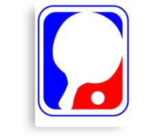 Ping Pong League Logo Canvas Print