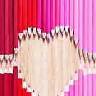 pencil love by Michelle McMahon