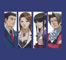 Ace Attorney Panels by Molmoran