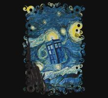 Soaring Blue Phone booth by ThreeSecond DesignandArt
