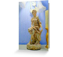 Art Nouveau Statue Greeting Card