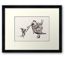 Telegramme Part 2 Framed Print