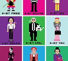 8-Bit Fashion Icons by 8biticons
