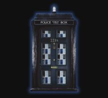 Sherlock holmes doctor who tardis 221b by ThreeSecond DesignandArt