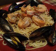 Shrimp and clams by vigor