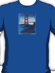 San francisco's Golden Gate Bridge T-Shirt