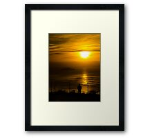 Missing Home Framed Print