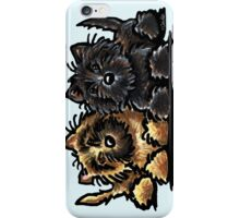 Two Cairn Terriers iPhone Case/Skin