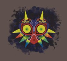 Zelda - Majora's Mask Splatter by QuestionSleepZz