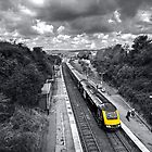 Liskeard High Speed Train  by Rob Hawkins