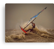 Storm Windsurfer  Canvas Print