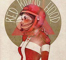 Cosmic red riding hood by Elia Mervi