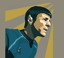 Spock Phone Case by PinupDeetz